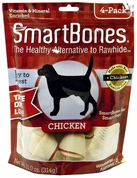 SmartBones Medium Chicken Chews (4 pack)