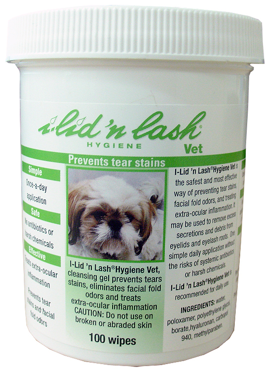 Sogeval I-lid 'n Lash Hygiene Vet Wipes (100 counts)