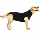 Suitical Recovery Suit for Dogs Black - Large