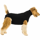 Suitical Recovery Suit for Dogs Black - Small
