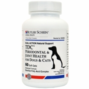 TDC™ Periodontal & Joint Health for Dogs & Cats by Butler Schein (60 Softgels)