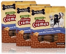 Three Dog Bakery Classic Cremes Peanut Butter 3-PACK (39 oz)