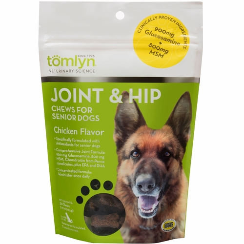 Tomlyn Joint & Hip Chews for Senior Dogs (30 count)