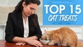 Top 15 Treats for Cats