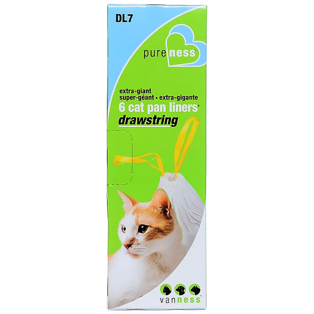 Van Ness Drawstring Cat Pan Liners - X-Giant (6 Pack)