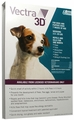 Vectra 3D GREEN for Dogs & Puppies 2.5-20 lbs - 6 Doses