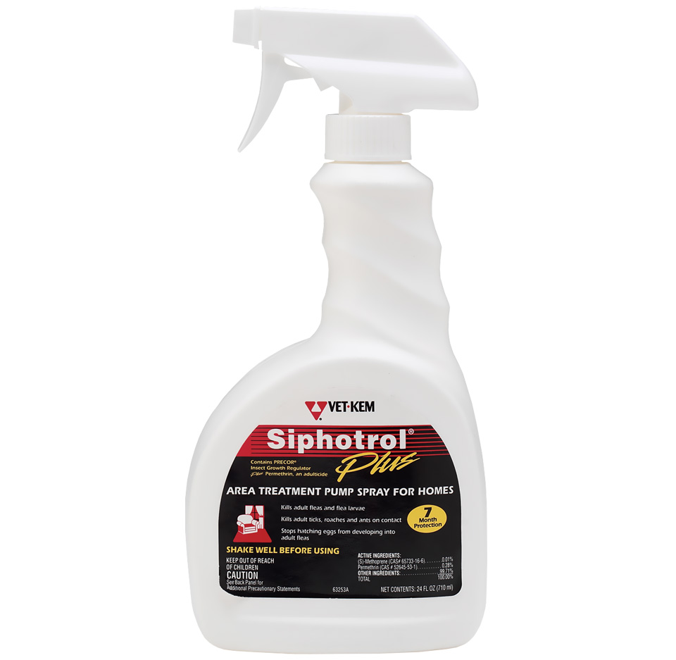 Vet Kem Siphotrol Plus Spray (24 fl oz)