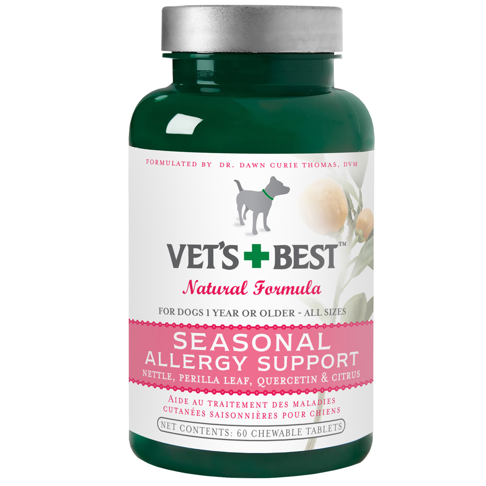 Natural Seasonal Allergy Relief For Dogs