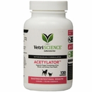 VetriScience Acetylator - For Cats and Dogs (120 capsules)