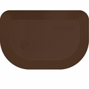 """Wellness Rounded PetMat - Brown Bark (X-Small 18""""x12"""")"""