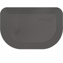 """Wellness Rounded PetMat - Gray Cloud (X-Small 18""""x12"""")"""