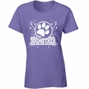 Women's T-Shirt - The Dogmother - Medium (Lilac)