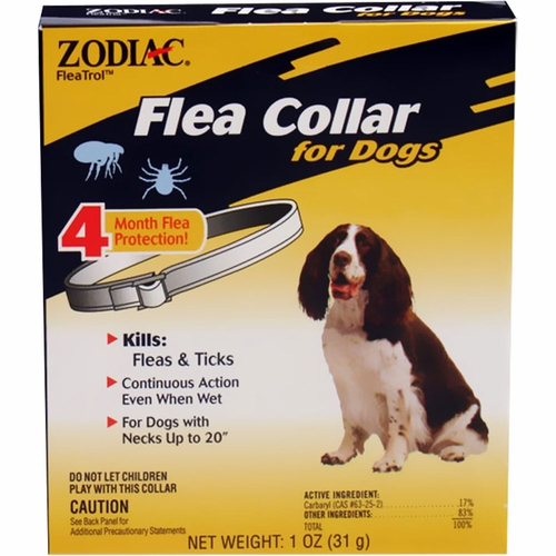 Zodiac Flea Collar for Dogs (4 Months)