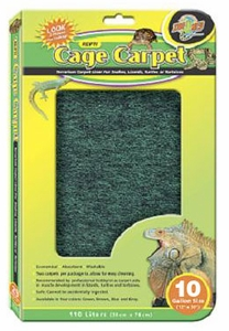 Zoo Med Repti Cage Carpet (10 gallon size)