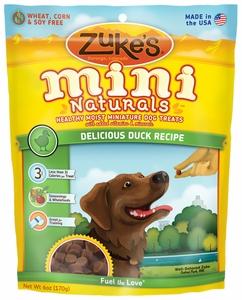 Zukes Mini Naturals Delicious Duck (6 oz)