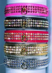 Luxury Crystal Majestic Dog Collars