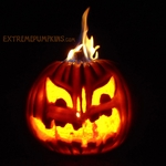 A Flaming Pumpkin Face for 2012