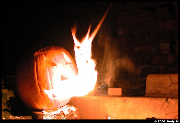 Fire Breathing Pumpkin