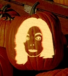 Michael Jackson Pumpkin from Fark