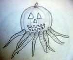 Octopus Pumpkin