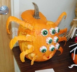 The 8 Eyed Spider Pumpkin