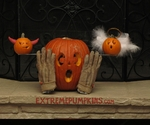 The Angel / Devil Pumpkin