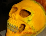 The Best Skull Pumpkin of 2010