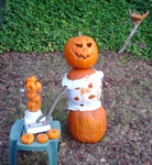 The Blender Tending Property Defender Pumpkin