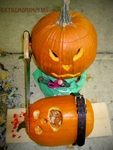 The Brain Surgery Pumpkin Scene