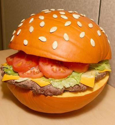 The Burger Pumpkin