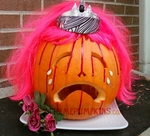 The Carrie Pumpkin - Crying Prom Queen