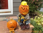 The Chainsaw Pumpkin Guy