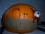 The Distended Eyeball Pumpkin