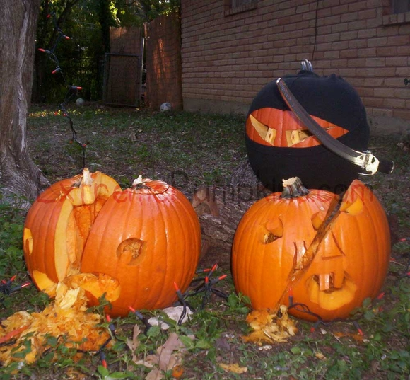 The Ninja Pumpkin