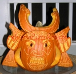 The Samurai Pumpkin