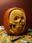 The Skull-A-Day Pumpkin