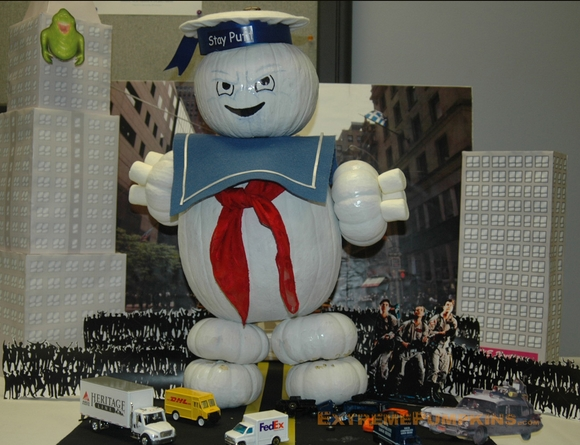 The Stay Puff Marshmallow Man