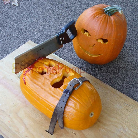 The Strapped To A Board Pumpkin