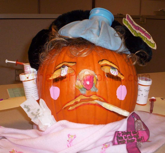 The Swine Flu Pumpkin