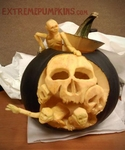 Zombies Escaping This Pumpkin