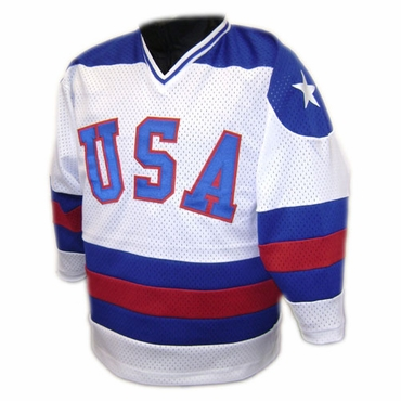 1980 Team USA Replica Hockey Jersey