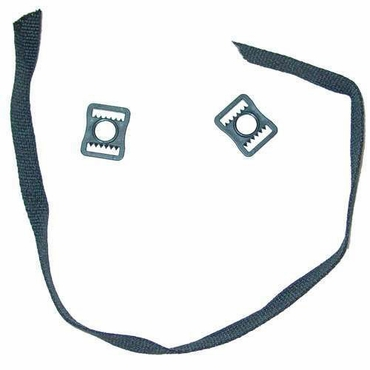 A&R Double Buckle Hockey Helmet Chin Strap Kit