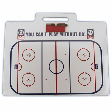 A&R Jumbo Hockey Coach Board w/ Handle