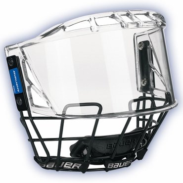 Bauer 920 Deluxe Senior Hockey Helmet Full Shield w/Cage
