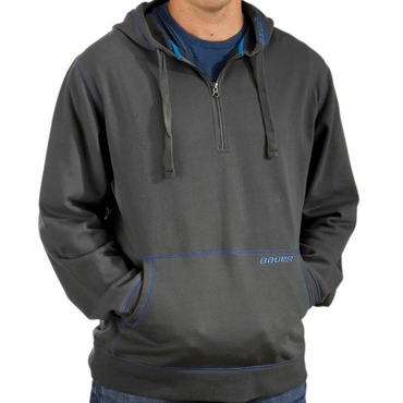 Bauer Accent 1/4 Zip Hockey Hoodie - Senior