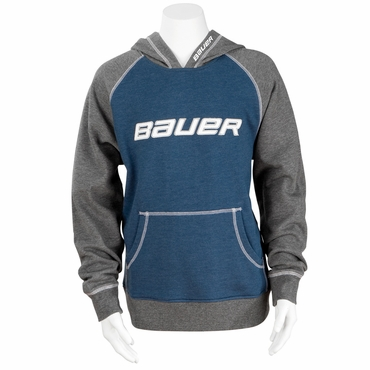 Bauer Accent Two Tone Youth Pull-over Hockey Hoodie