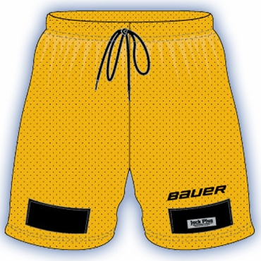 Bauer Basic Senior Mesh Hockey Jock Shorts