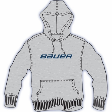 Bauer Classic Printed Hockey Hoodie - Youth