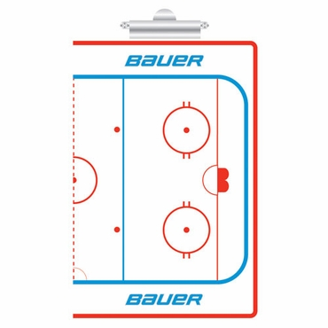 Bauer Coaches Hockey Clip Board