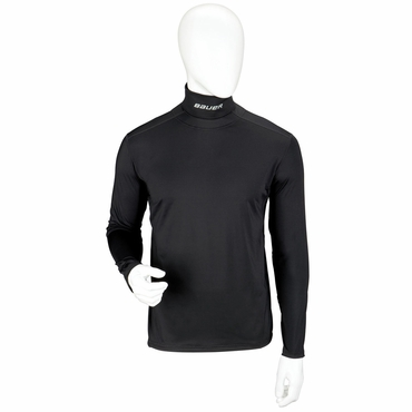 Bauer Core Integrated Neck Junior Long Sleeve Hockey Shirt